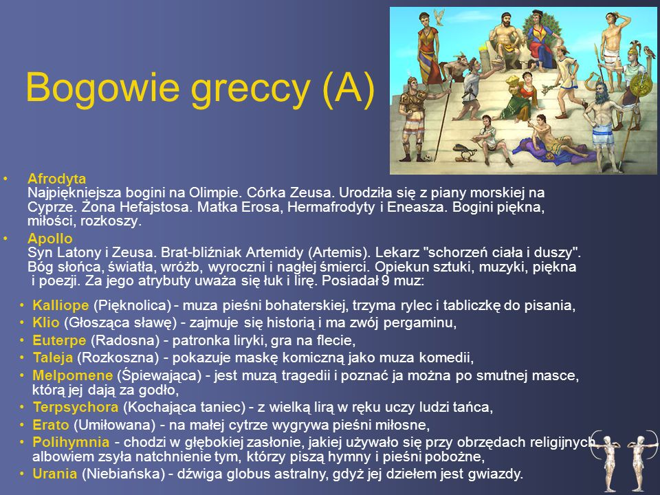 Bogowie greccy (A)