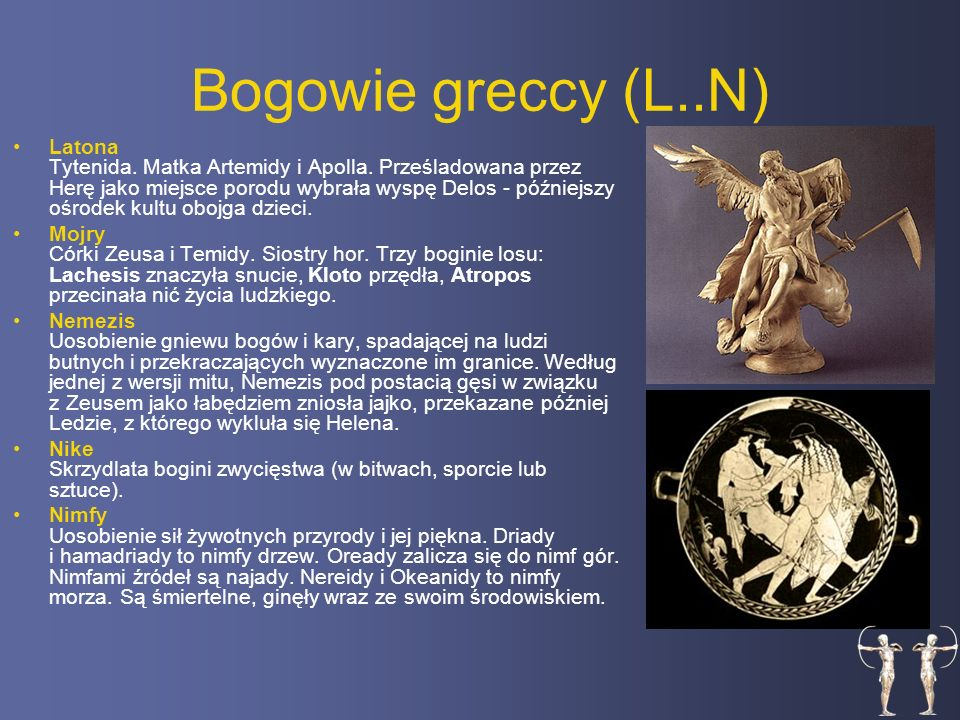 Bogowie greccy (L..N)