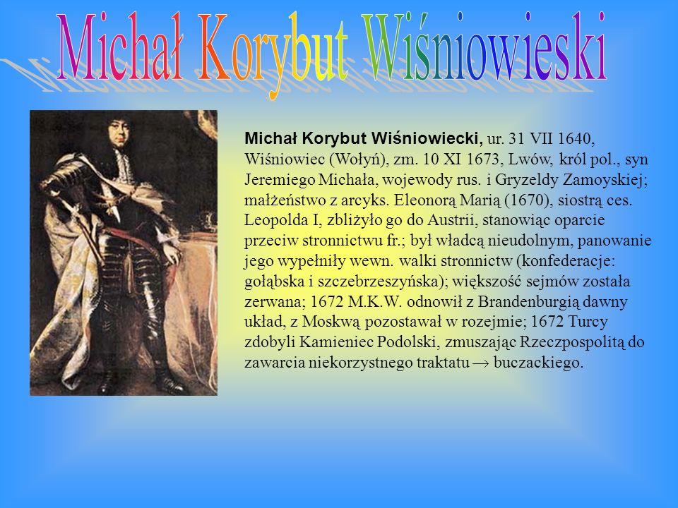 Michał Korybut Wiśniowieski