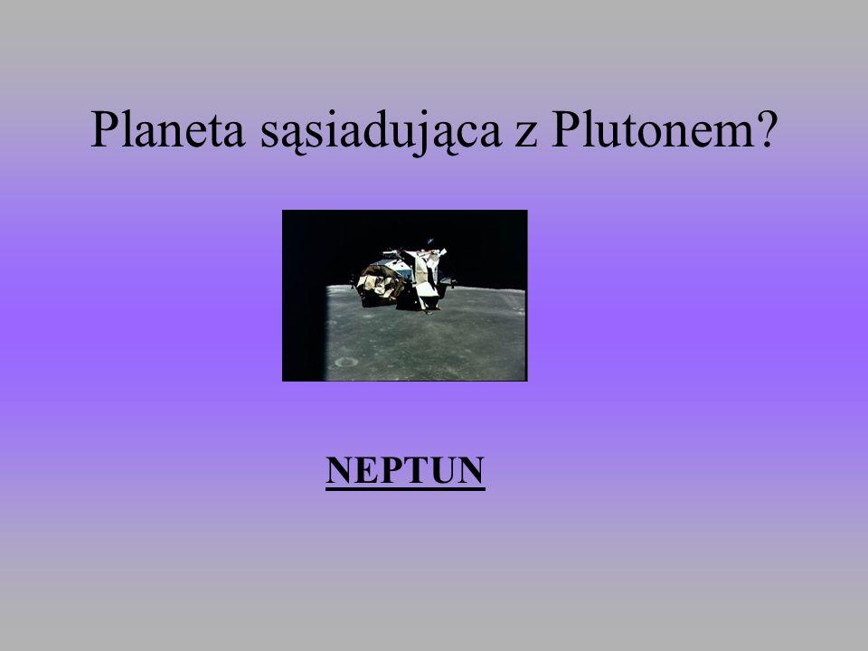 Planeta sąsiadująca z Plutonem