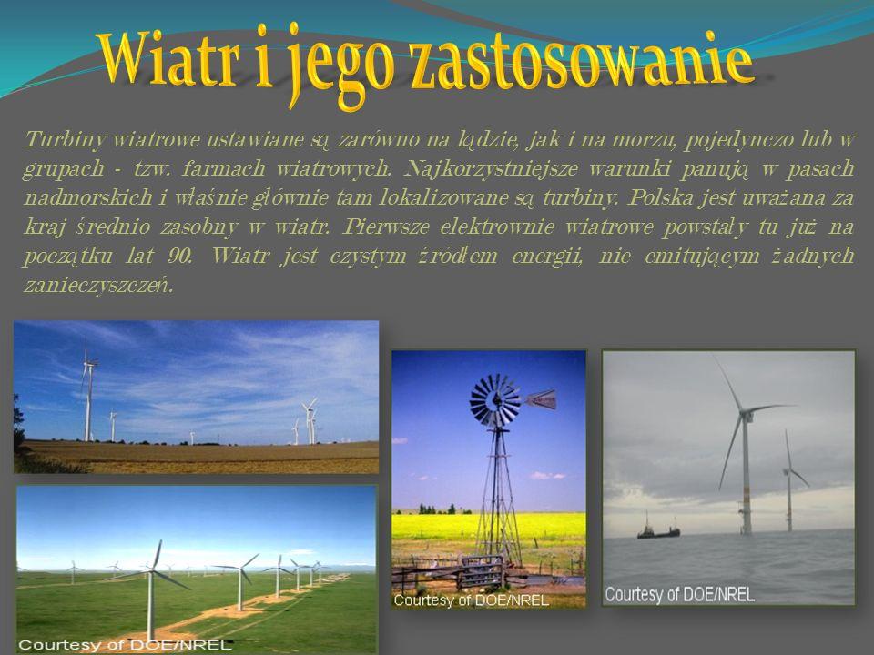 Wiatr i jego zastosowanie