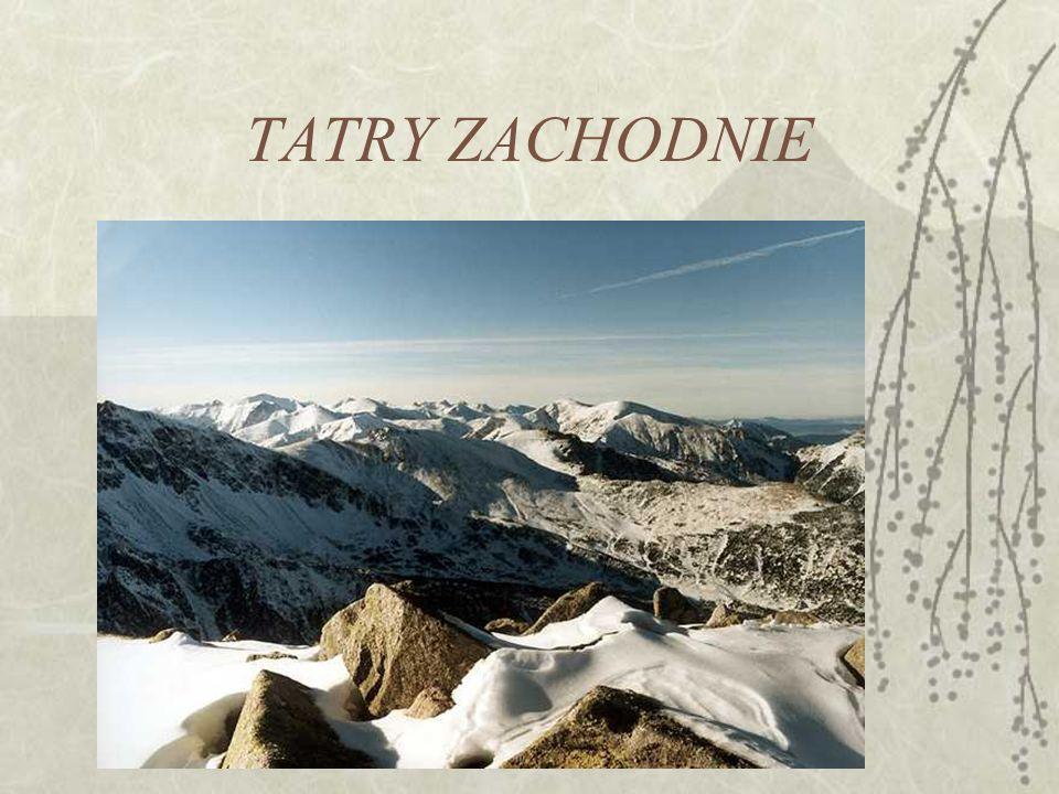 TATRY ZACHODNIE