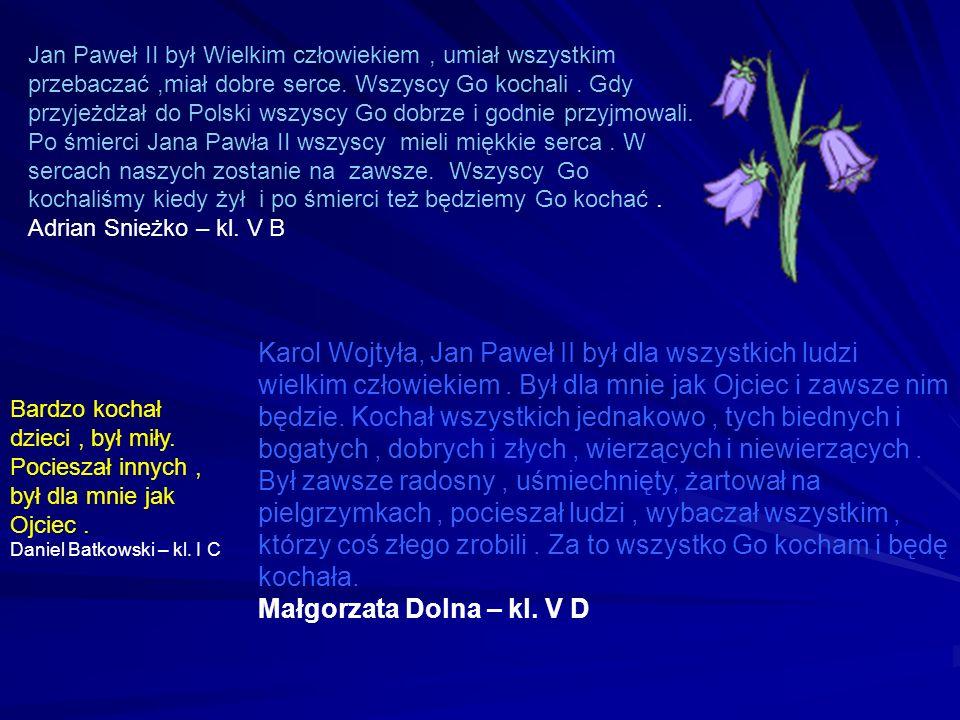 Małgorzata Dolna – kl. V D