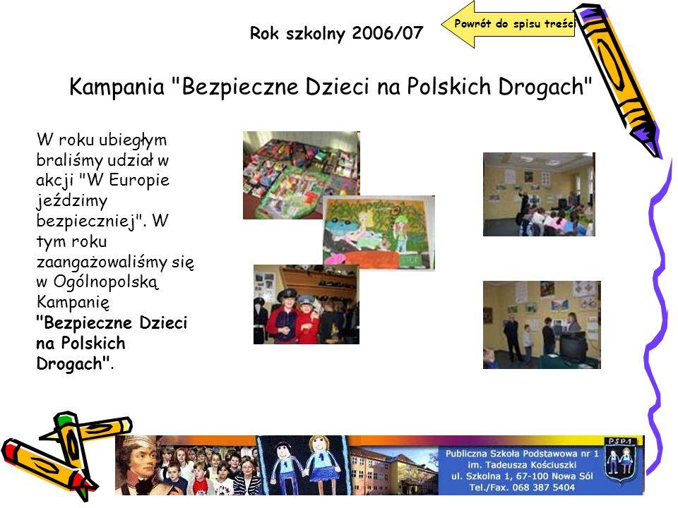 Kampania Bezpieczne Dzieci na Polskich Drogach