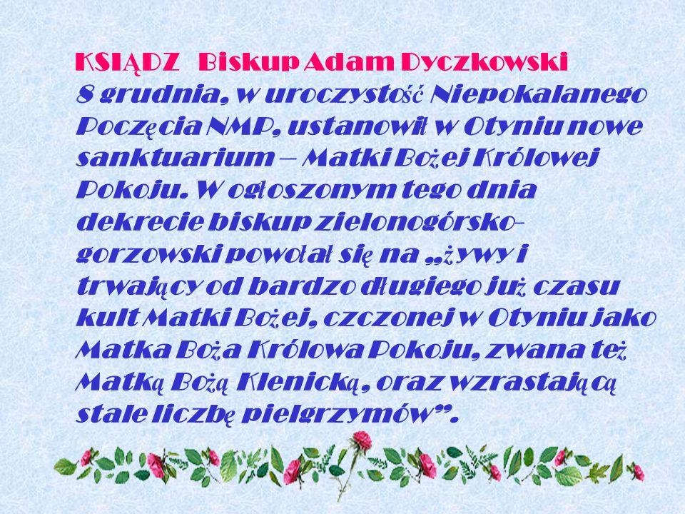 KSIĄDZ Biskup Adam Dyczkowski