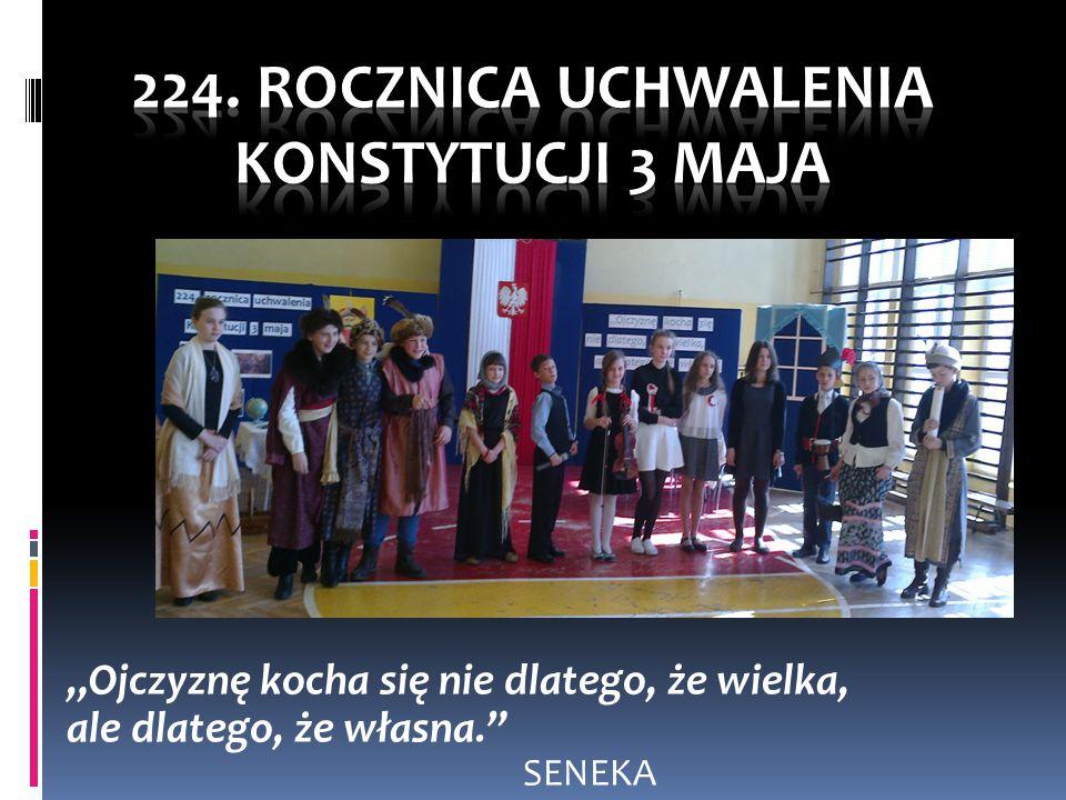 224. Rocznica uchwalenia Konstytucji 3 Maja