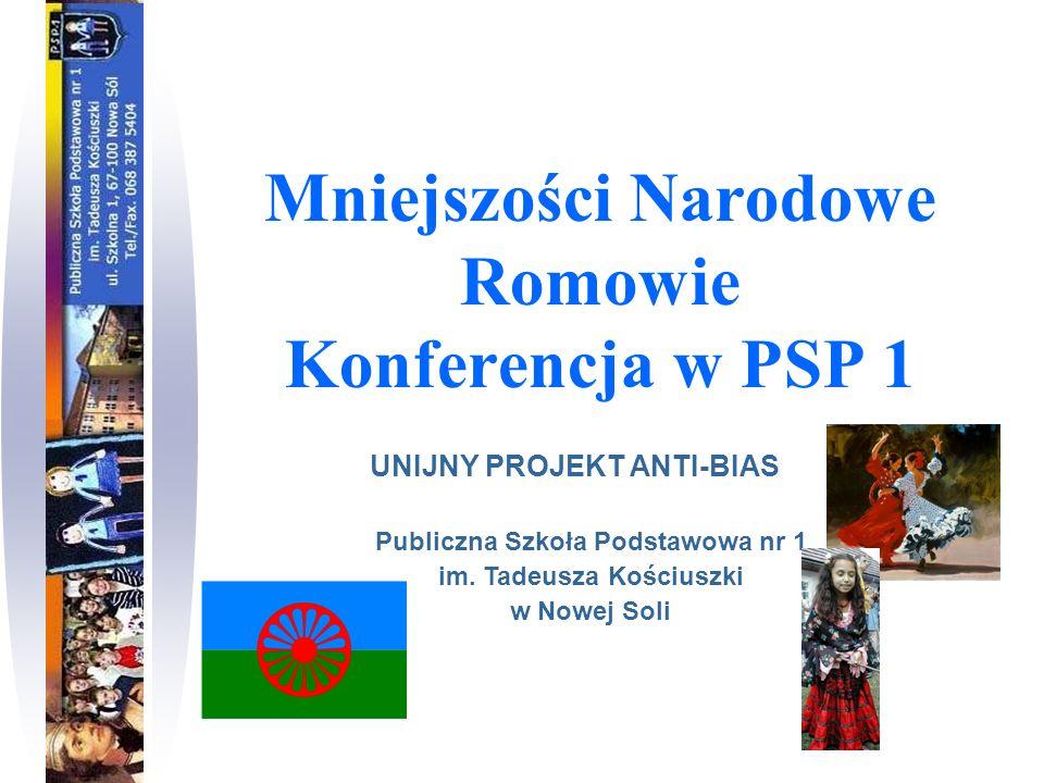 Mniejszości Narodowe Romowie Konferencja w PSP 1