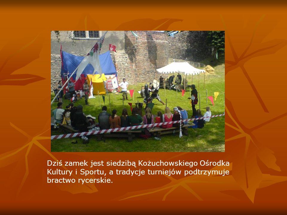 Dziś zamek jest siedzibą Kożuchowskiego Ośrodka Kultury i Sportu, a tradycje turniejów podtrzymuje bractwo rycerskie.