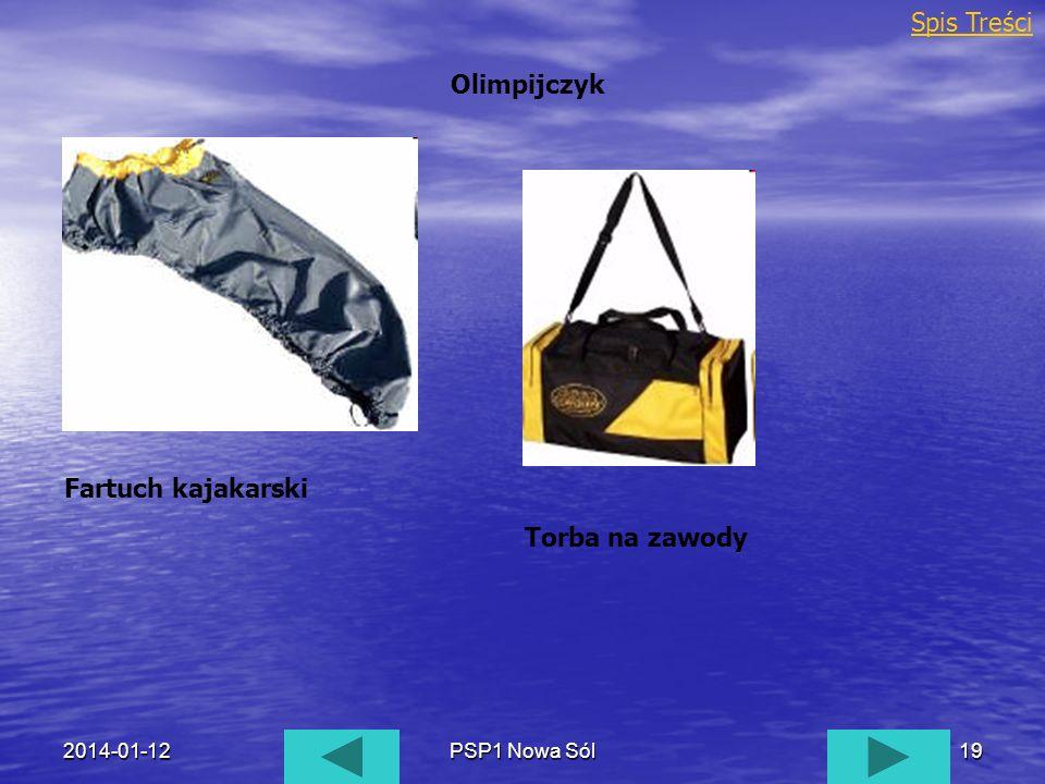 Spis Treści Olimpijczyk Fartuch kajakarski Torba na zawody 2017-03-26