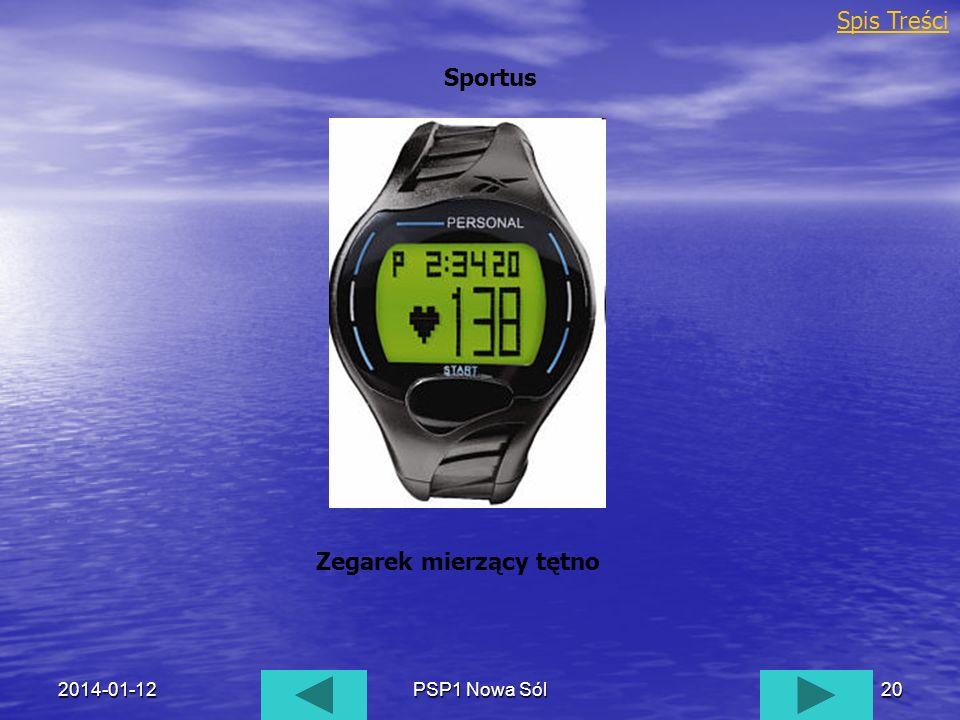 Zegarek mierzący tętno