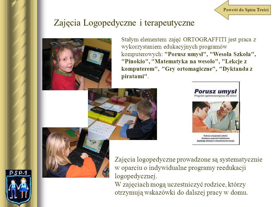 Zajęcia Logopedyczne i terapeutyczne