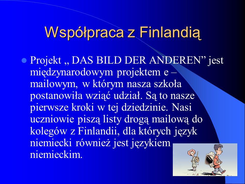 Współpraca z Finlandią