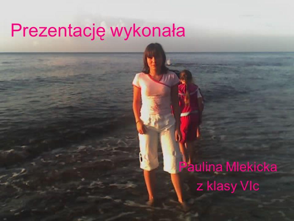 Paulina Mlekicka z klasy VIc