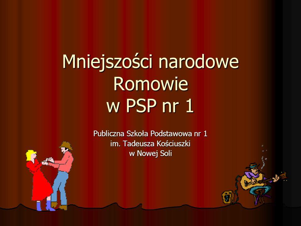 Mniejszości narodowe Romowie w PSP nr 1