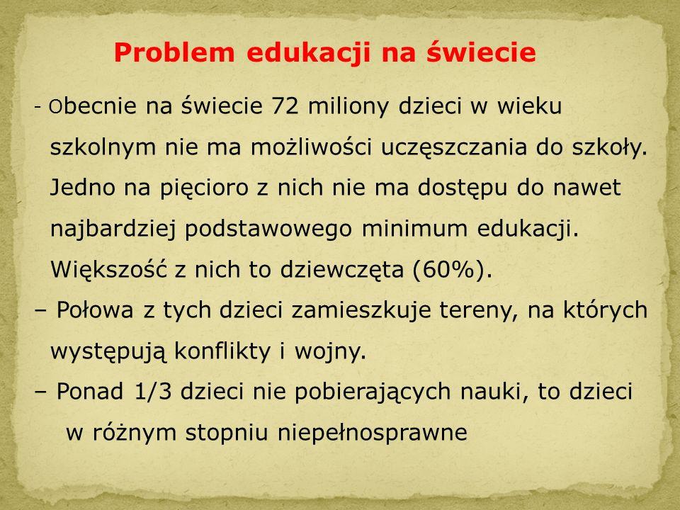 Problem edukacji na świecie