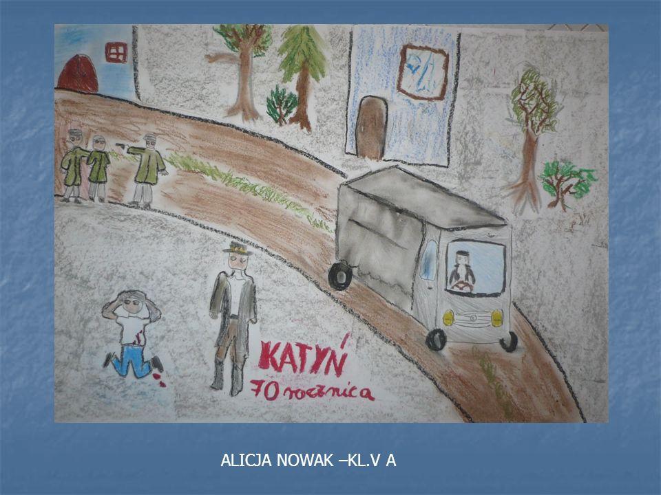 ALICJA NOWAK –KL.V A