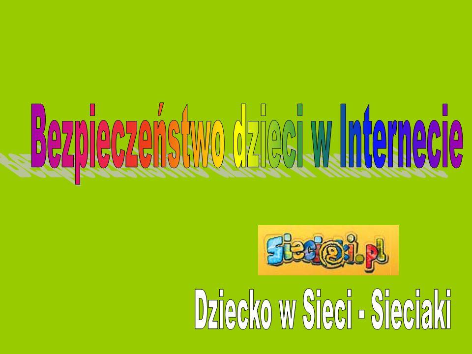 Bezpieczeństwo dzieci w Internecie