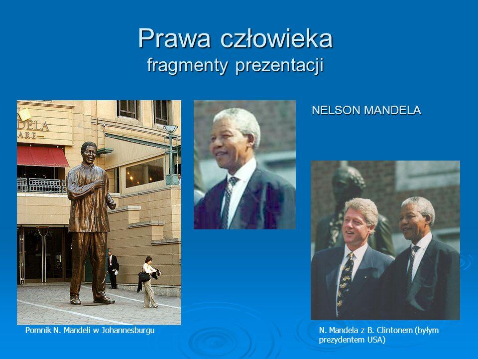 Prawa człowieka fragmenty prezentacji