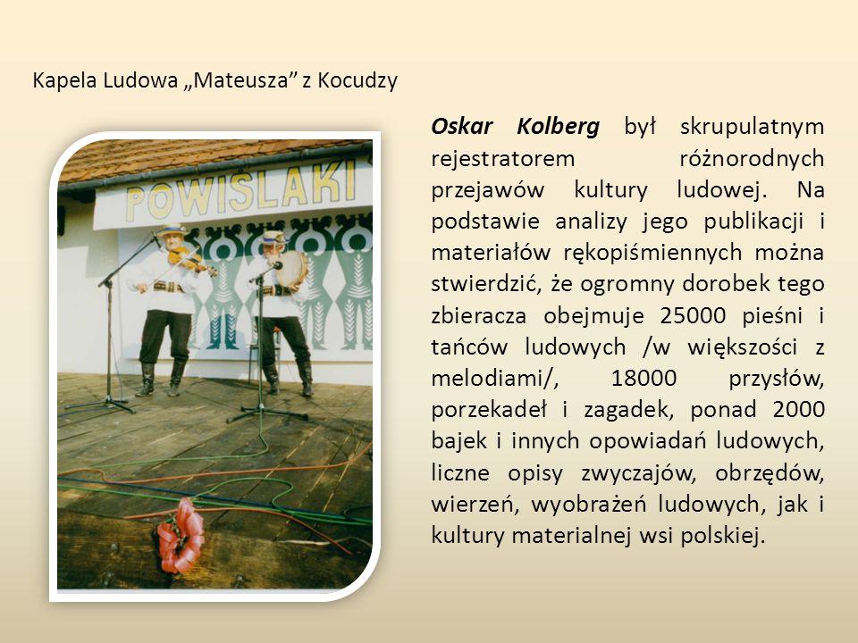 "Kapela Ludowa ""Mateusza z Kocudzy"