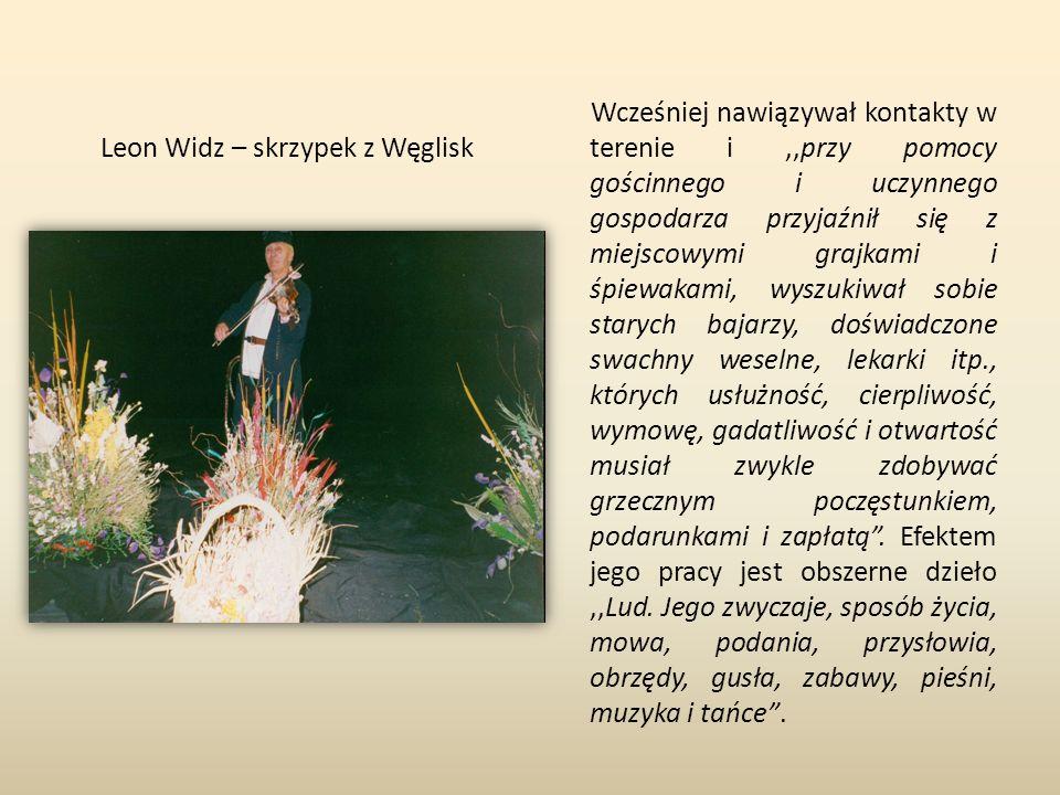 Leon Widz – skrzypek z Węglisk
