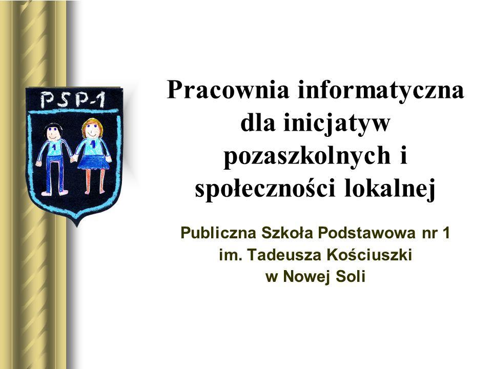 Publiczna Szkoła Podstawowa nr 1 im. Tadeusza Kościuszki w Nowej Soli