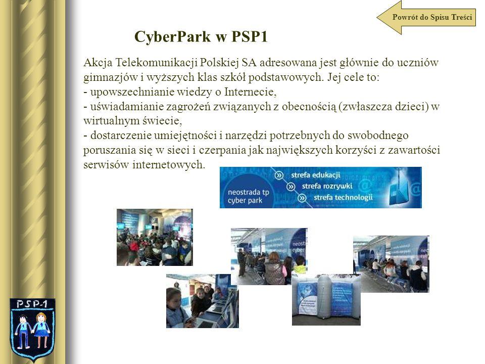 Powrót do Spisu Treści CyberPark w PSP1.