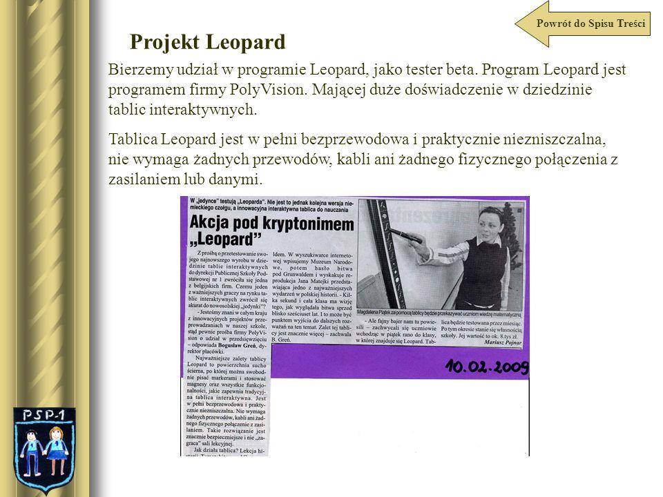 Powrót do Spisu Treści Projekt Leopard.