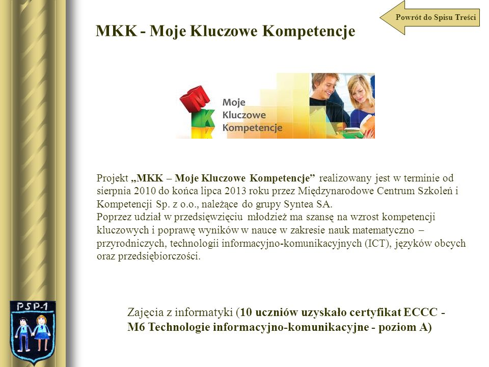 MKK - Moje Kluczowe Kompetencje