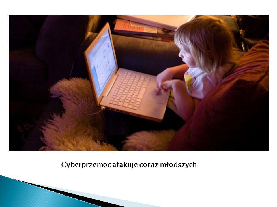 Cyberprzemoc atakuje coraz młodszych