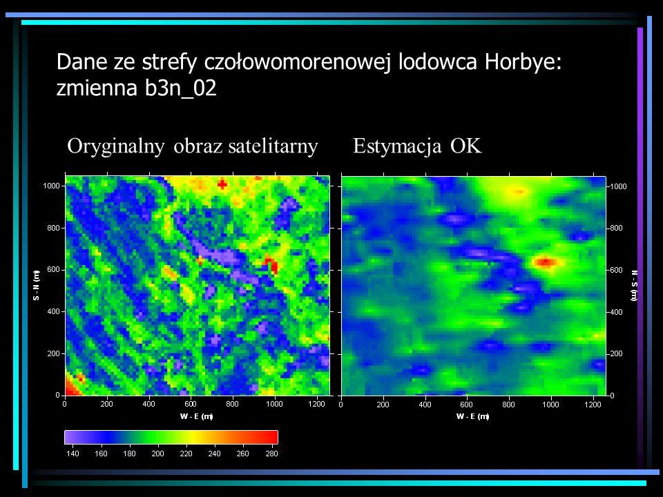 Dane ze strefy czołowomorenowej lodowca Horbye: zmienna b3n_02