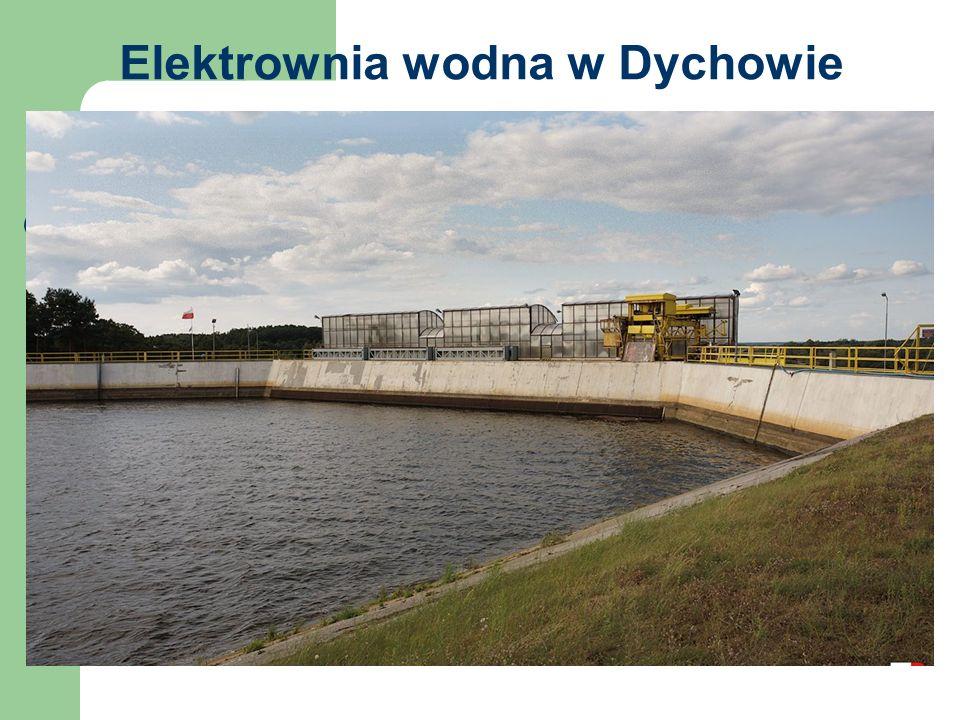 Elektrownia wodna w Dychowie