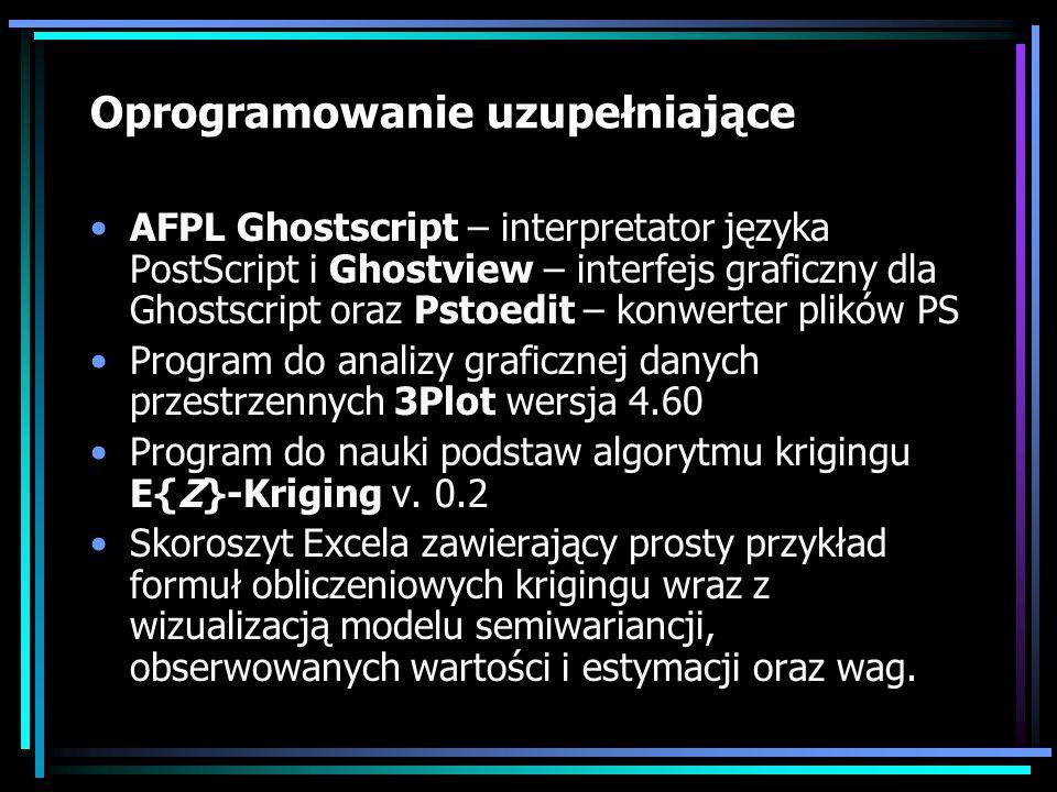 Oprogramowanie uzupełniające
