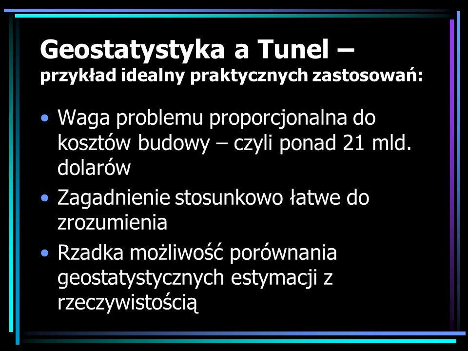 Geostatystyka a Tunel – przykład idealny praktycznych zastosowań: