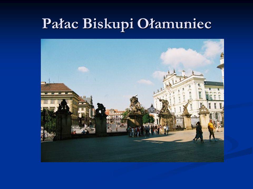 Pałac Biskupi Ołamuniec
