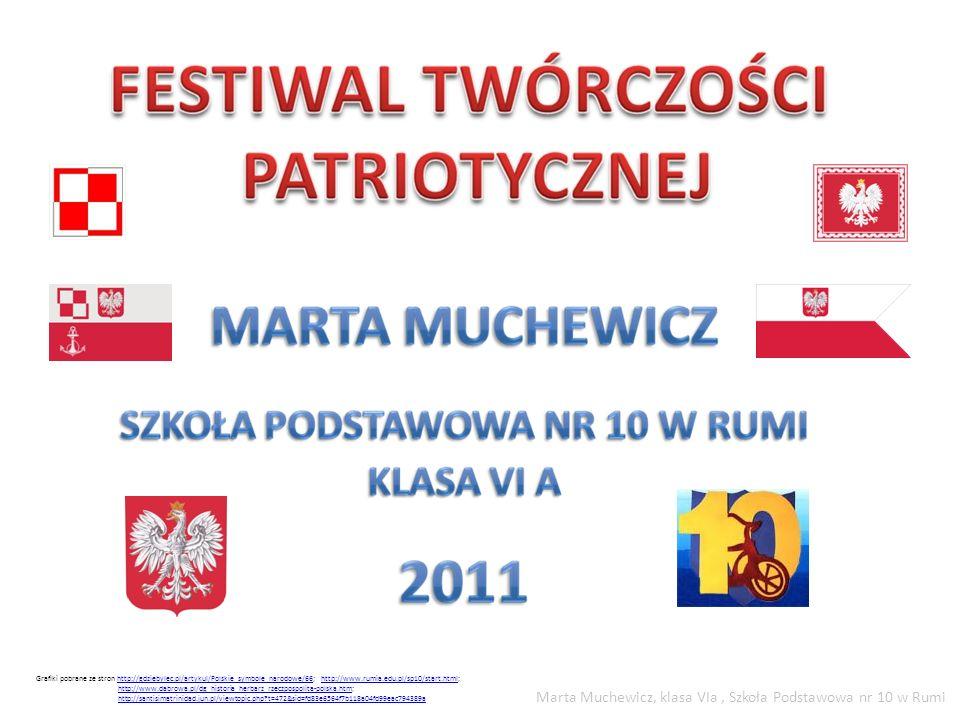 Marta Muchewicz, klasa VIa , Szkoła Podstawowa nr 10 w Rumi