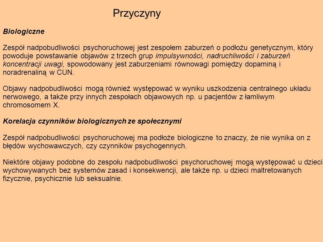 Przyczyny Biologiczne.