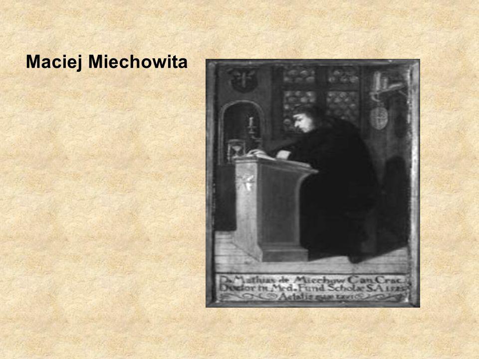 Maciej Miechowita