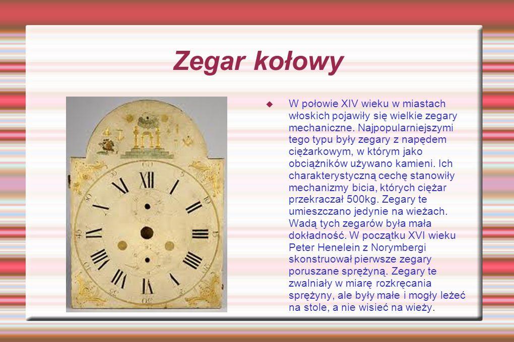 Zegar kołowy