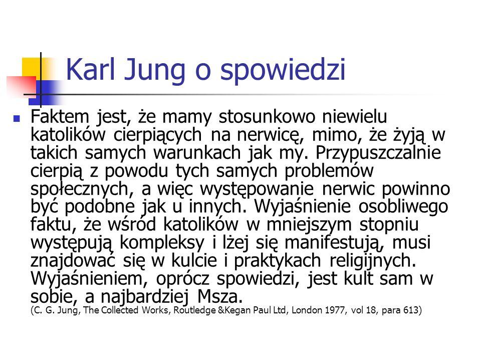 Karl Jung o spowiedzi