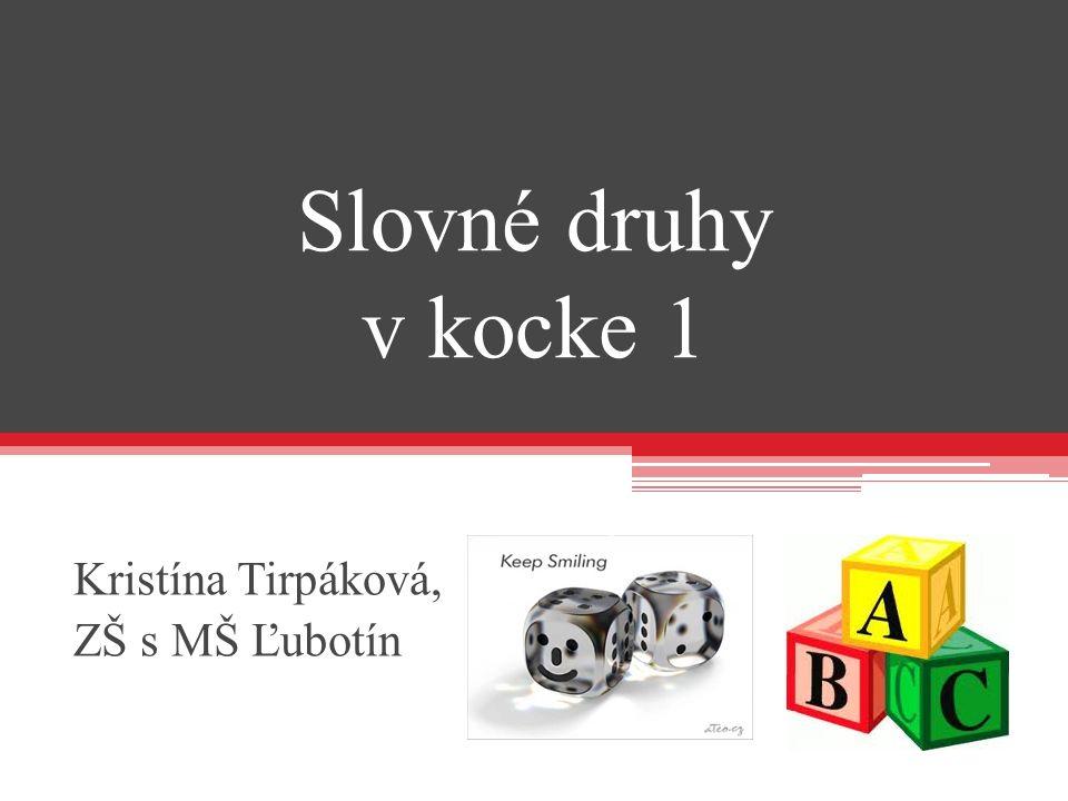 Kristína Tirpáková, ZŠ s MŠ Ľubotín