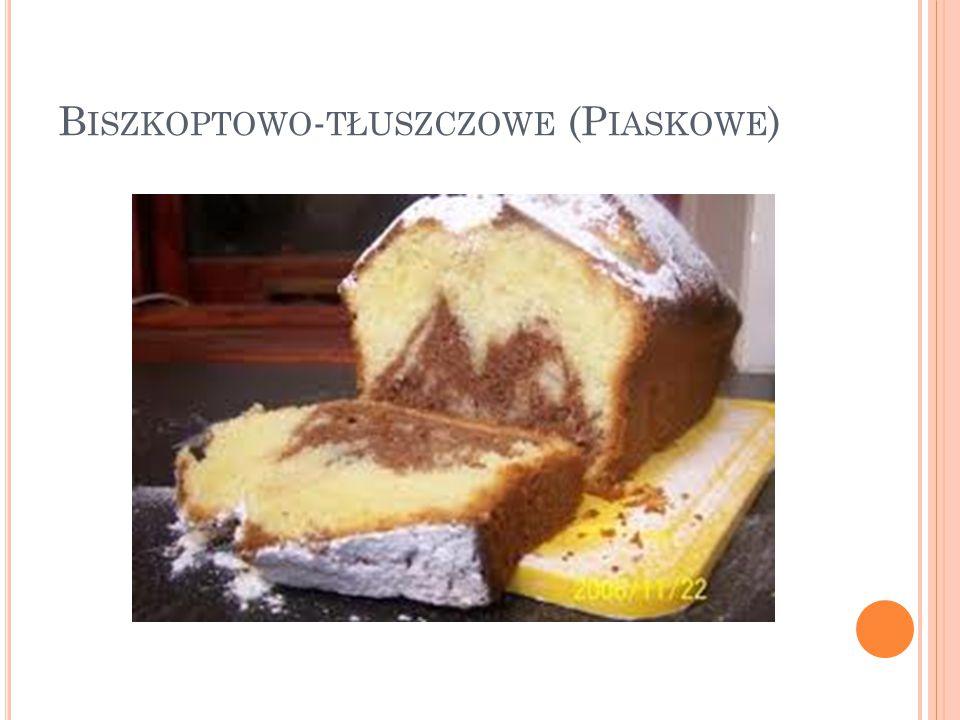 Biszkoptowo-tłuszczowe (Piaskowe)