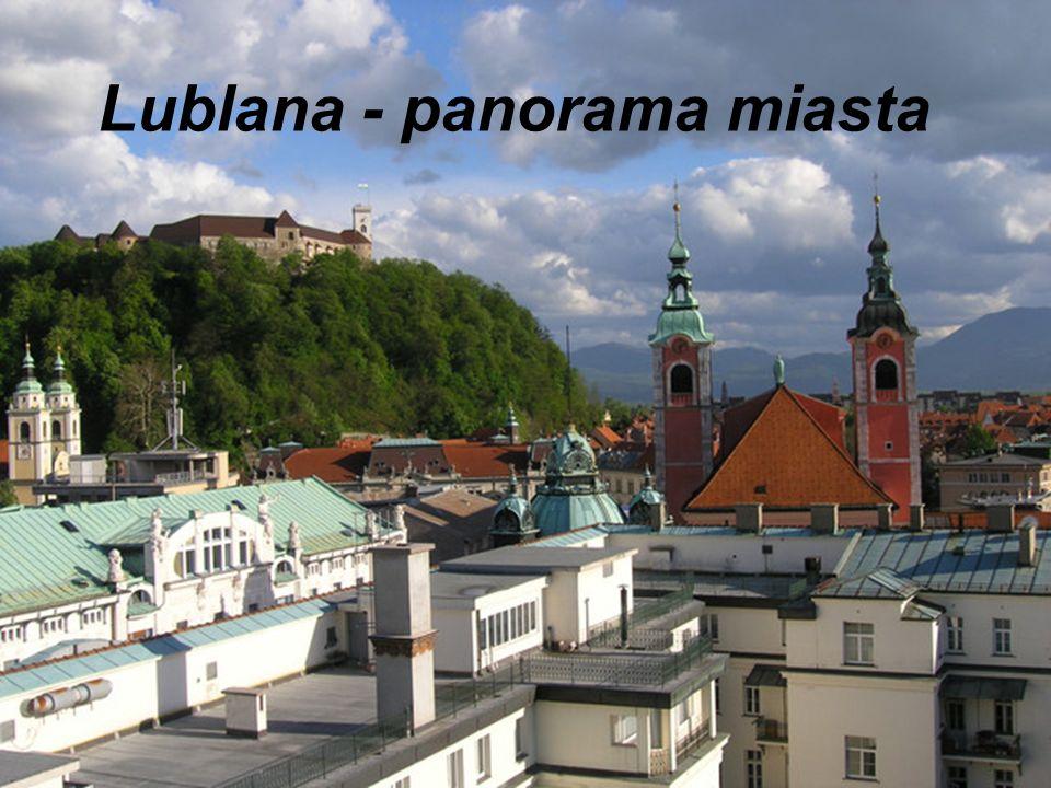 Lublana - panorama miasta