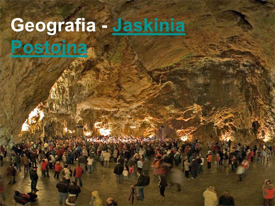 Geografia - Jaskinia Postojna