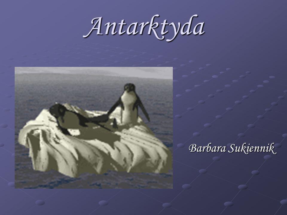 Antarktyda Barbara Sukiennik
