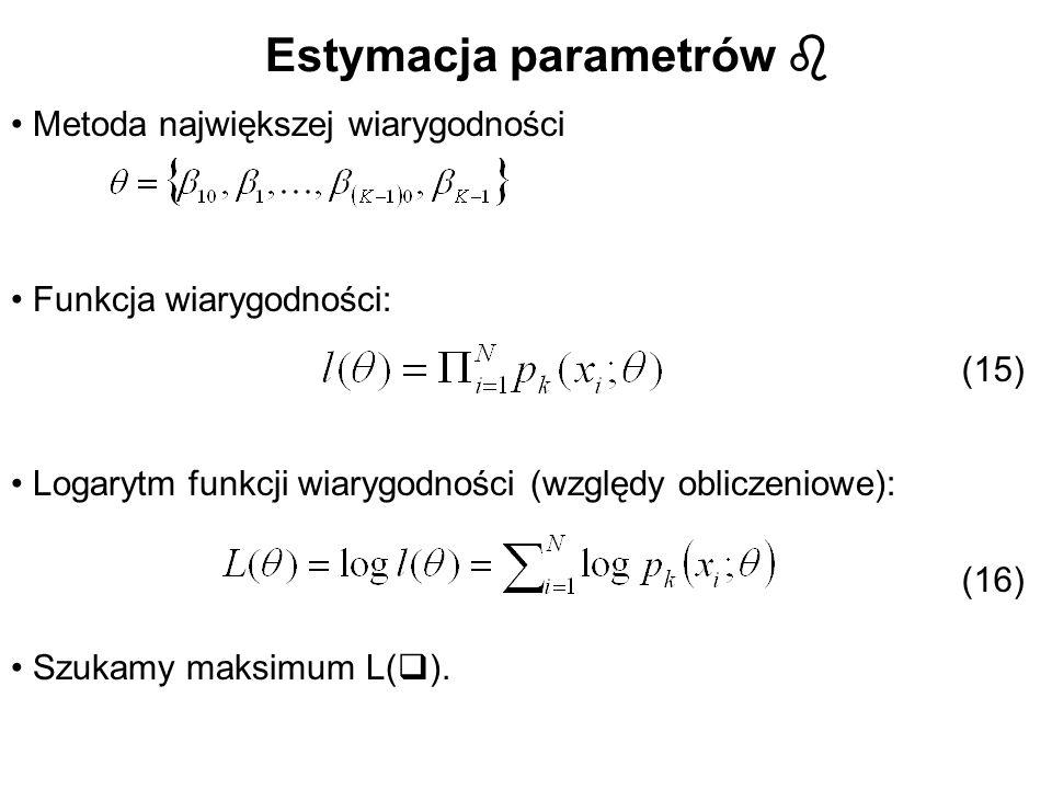 Estymacja parametrów 