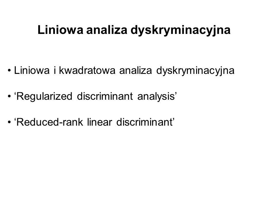 Liniowa analiza dyskryminacyjna