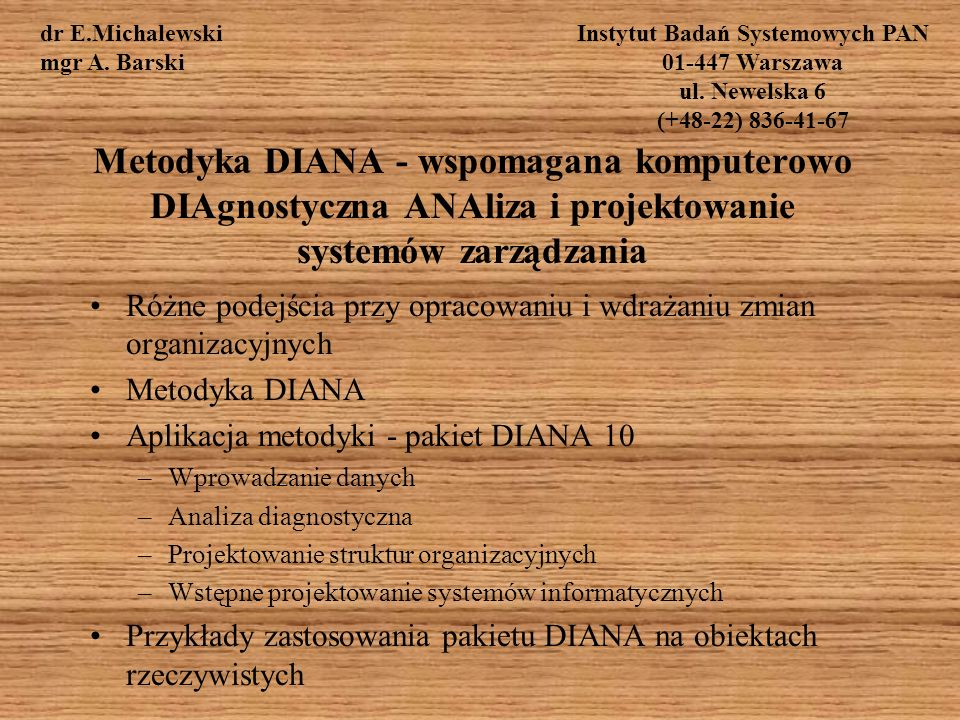 Instytut Badań Systemowych PAN