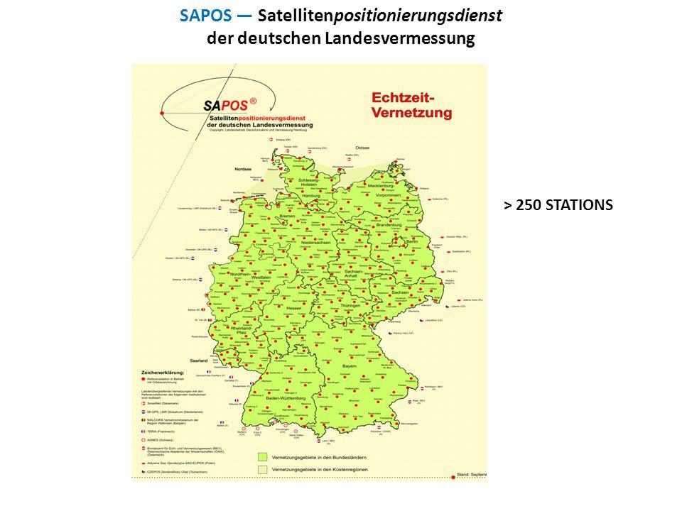 SAPOS — Satellitenpositionierungsdienst der deutschen Landesvermessung
