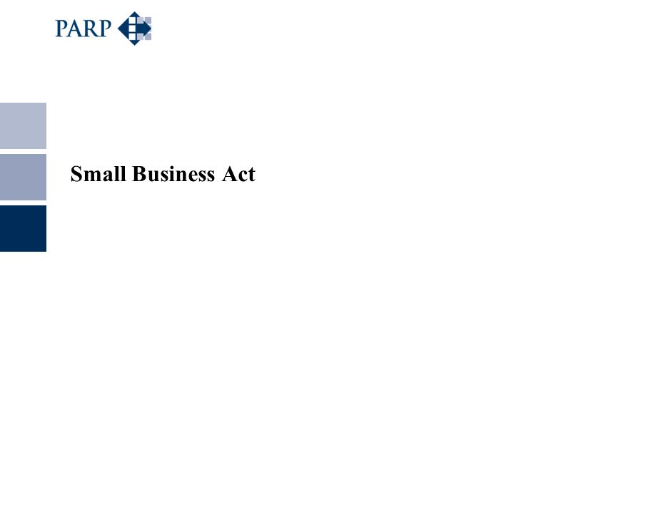 Small Business Act
