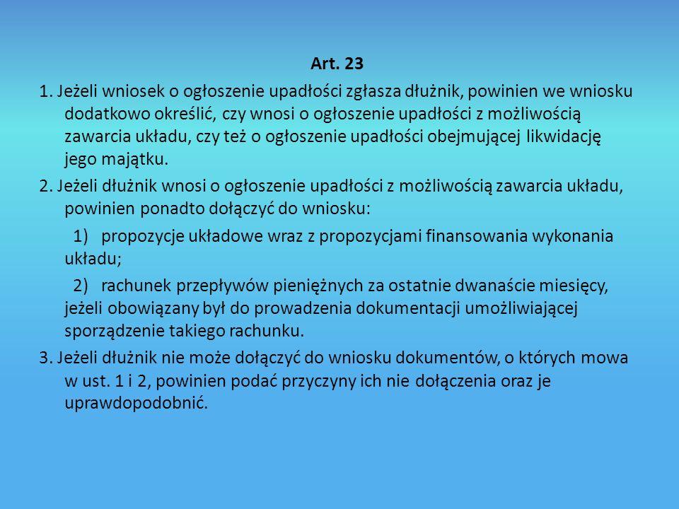 Art. 23 1.